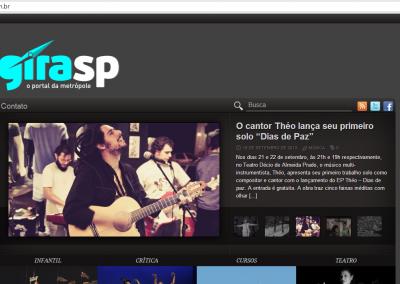 Shows de lançamento do EP são destaque no Gira SP