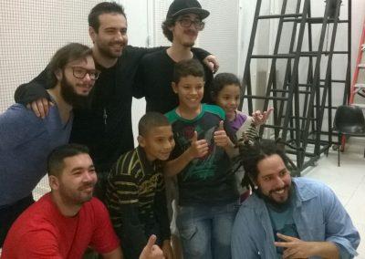 Sob o olhar do público no Teatro Flávio Império (14 e 15.03.2015)