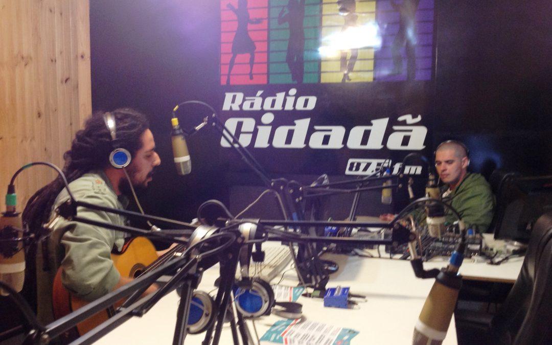 Théo na Rádio Cidadã FM