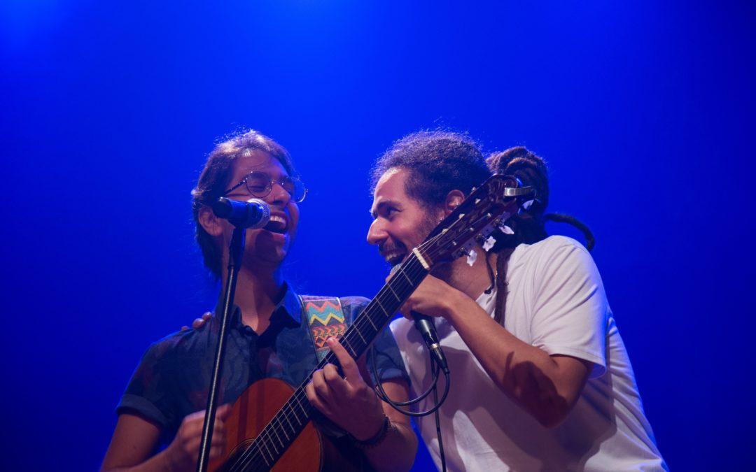 """Show de lançamento """"NÓS"""" – Part. Capela – Sala Olido (12.10.2017)"""