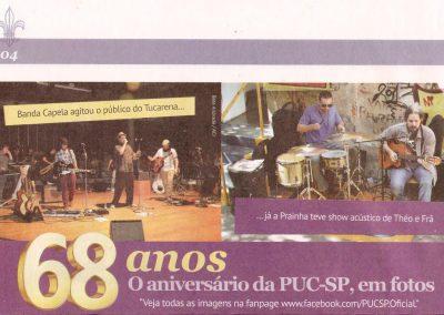 Théo no jornal da PUC-SP