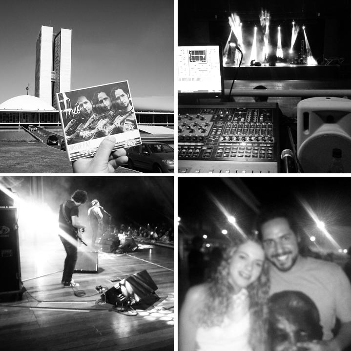 """Nos bastidores da turnê """"Troco Likes"""" do Tiago Iorc."""