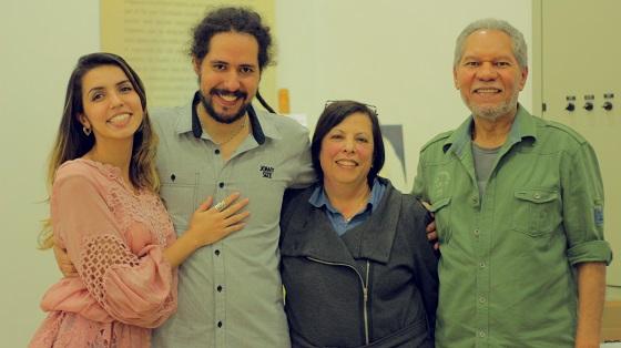 Me agarrando no amor, com meus pais e a Pri (pro Marco Falkembach)