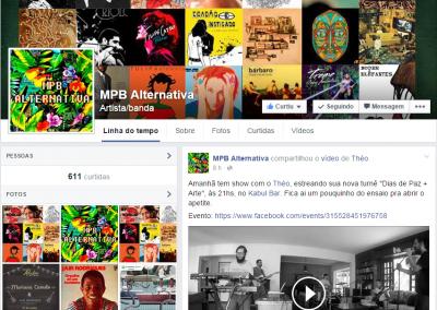 "MPB Alternativa divulga estréia da turnê ""DIAS DE PAZ + ARTE"""
