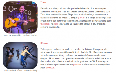 "Théo na ""Playlist Brazuca"" do Blog Polaroid 8"