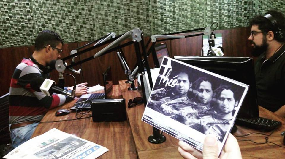 Théo na Rádio Jornal de Inhumas – GO