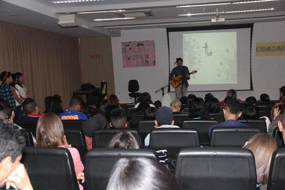 Auditório lotado no SENAC Tatuapé (por Silvia Peres)