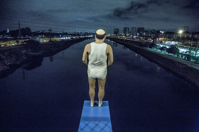 """""""As Margens do Rio Pinheiro"""" por Eduardo Srur / Foto: zupi.com.br"""